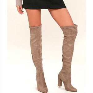 Steve Madden 'Emotions' over the knee boot